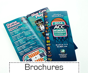 Brochures - less than 500 count